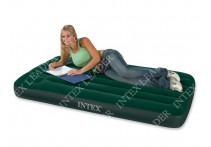 67379 Bestway Надувной матрас Comfort Green Flocked Air Bed(Single) 185х76х22 см