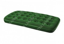 67447 Bestway Надувной матрас Flocked Air Bed(Twin) 188х99х22 см