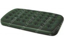 67448 Bestway Надувной матрас Flocked Air Bed(Double) 191х137х22 см