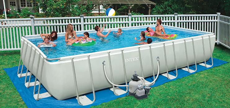 Установка каркасного бассейна: подробная инструкция