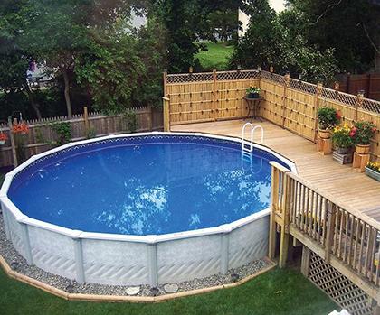 Площадка под бассейн — подготовка и советы